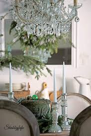 french country rustic elegant christmas dining room shabbyfufu com