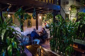 decent eats in a secret jungle hideout 49 monroe has definite