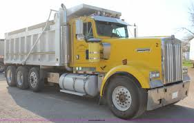 2000 kenworth w900 dump truck item k6995 sold may 14 co