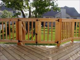 Decorative Wrought Iron Railings Outdoor Fabulous Long Deck Stairs Building Exterior Stairs With