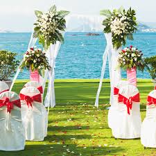 daytime outdoor wedding decorations eclectic fiesta wedding maya