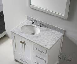 Bamboo Bath Vanity Cabinet Bathrooms Design Double Vanity Tops For Stone Shallow Vessel