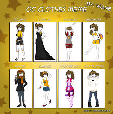Clothes Meme - wiane clothes meme by wiane on deviantart
