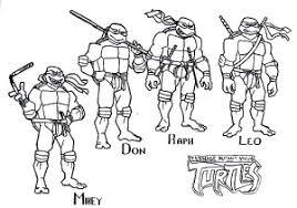 teenage mutant ninja turtles coloring pictures free coloring