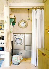 Decorating Ideas For Small Homes by Small Laundry Closet Ideas 16585