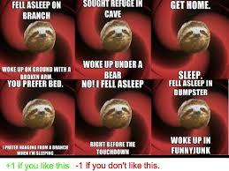 Sloth Meme Generator - the serious sloth