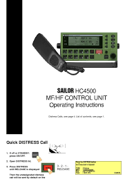 sailor hc4500 mf hf control unit operating instructions high