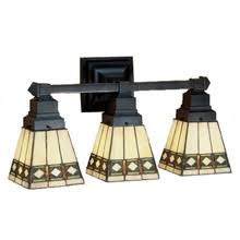 Craftsman Bathroom Lighting Craftsman Mission Bathroom Vanity Lights Ls Beautiful