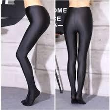 sedere delle donne nuovo moda lucido calzini collant pantaloni elastico al sedere