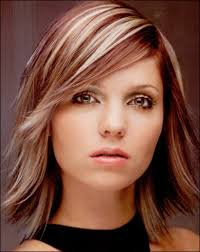fine graycoming in of short bob hairstyles for 70 yr old side bangs on long layered hair haircut red brown base w very