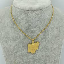 necklace pendant size images Anniyo pendant size 2 4cm x 2 7cm nigeria map pendant jpg