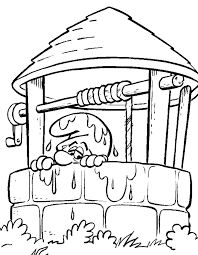 smurfs coloring pages coloringpages1001