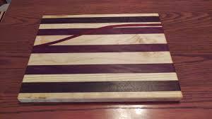 making a cutting board with a twist did it myself