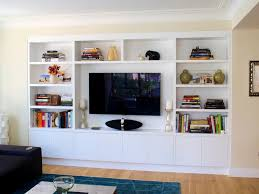 bathroom pleasing built wall units deskdef in and entertainment