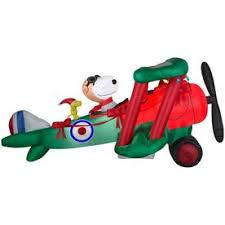 Snoopy Inflatable Christmas Decoration by Shop Christmas Inflatables At Lowes Com