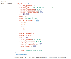 convert json to html table how to parse a json array into splunk table question splunk answers