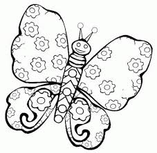 printable butterfly coloring pages intended to inspire in coloring