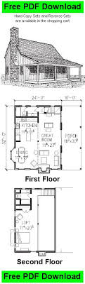 free cabin plans with loft 1231 best future cabin images on small houses home