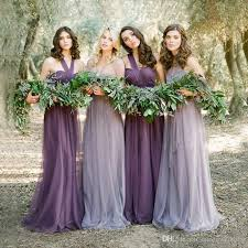 wedding dresses lavender 2016 pastel mismatched purple and lavender bridesmaid dresses