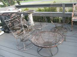 popular wrought iron outdoor furniture home design by fuller mid century modern outdoor furniture trend mid century modern