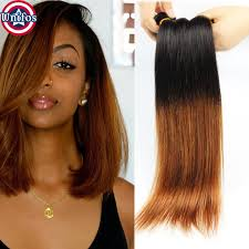 ombre weave peruvian ombre hair 4 bundles ombre human hair