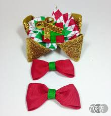 christmas present bows christmas present bow the ribbon retreat