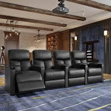 Movie Theater Sofas Theater Seating You U0027ll Love Wayfair