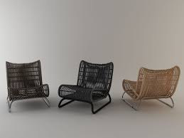 loop lounge chair by abie abdillah rattan lounge chair for