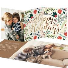 holiday photo cards custom designs from pear tree