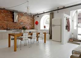 kitchens with brick walls 22 modern kitchens and dining room designs enhanced by exposed