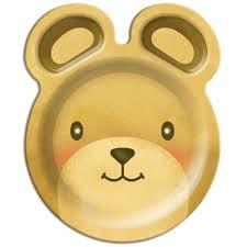 teddy bears u0027 picnic plates teddy bear birthday party party ark