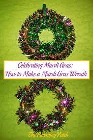 mardi gras wreaths celebrating mardi gras how to make a mardi gras wreath