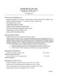 Sample Resume Nursing Student by Sample Resume Rn Nursing Home