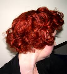 brushing out pin curls