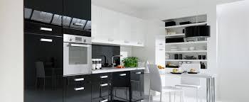 cuisine blanche et noir deco salon blanc et noir best salon decore blanc chambre