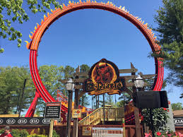 Theme Park Six Flags Six Flags Great Adventure El Diablo Media Event And Review