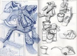 pr5 ex1 still life sketches of made objects huntemmalogblog