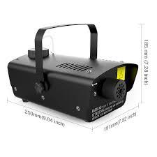amazon com 1byone halloween fog machine with wired remote control