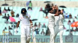 ind vs sl 1st test bad light stops play on day 3 sl finish at 165 4