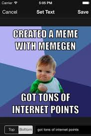 Meme Gen - imgur brings its meme generation utility to iphone with new memegen