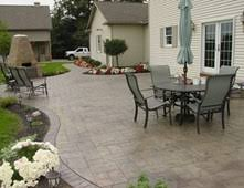 Paver Patio Design Lightandwiregallery Com by Beautiful Concrete Patio Design Ideas Contemporary Home Design
