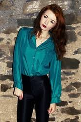 turquoise blouse vintage turquoise blouse lookbook