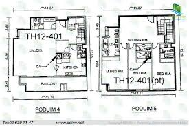 3 bedroom townhouse 2909 sqft floor plans the gate tower i u2013 gate