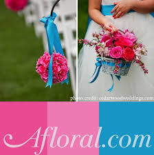 Blue Wedding Flowers Blue Wedding Color Combinations Afloral Com Wedding Blog