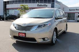 Toyota Sienna 2015 Release Date Pre Owned 2015 Toyota Sienna Limited Awd W Panoramic Roof