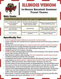 Travel teams national school of baseball
