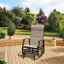 Pagoda Outdoor Furniture - garden rocking chair patio furniture steel frame pagoda rio