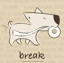 on break sign for desk office signs samillustration