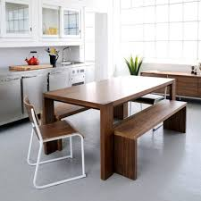Small Kitchen Table And Bench Set - kitchen wonderful bench style dining set dining room bench with