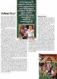 outdoor arbor swing plans u2022 woodarchivist